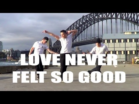LOVE NEVER FELT SO GOOD  - Michael Jackson &...