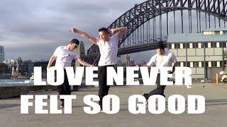 LOVE NEVER FELT SO GOOD  - Michael Jackson & Justin Timberlake Dance Choreography   Jayden Rodrigues