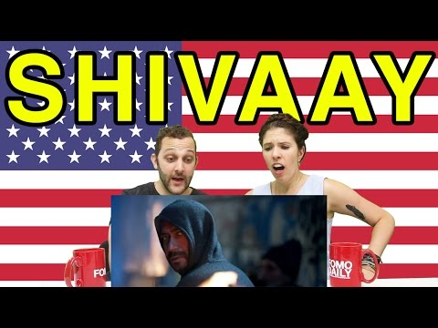 "Americans React To ""Shivaay"" Trailer"