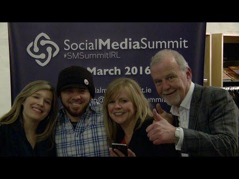 Social Media Summit 2016, Dublin.