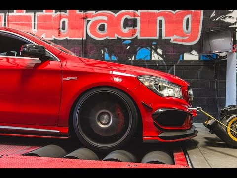 Armytrix Mercedes CLA 45 AMG Dyno And Horsepower Review
