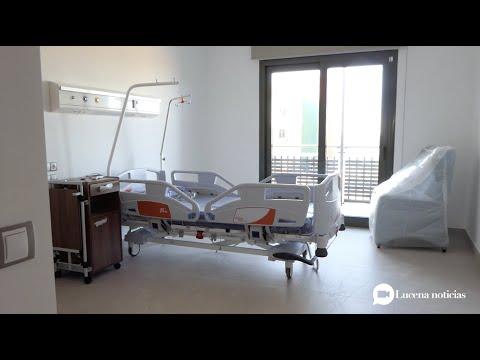 """VÍDEO: El Hospital """"Centro de Andalucía"""" espera abrir sus dos plantas de hospitalización general el 19 de octubre."""