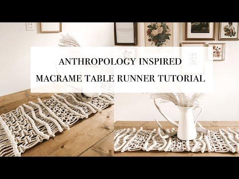 how-to:-diy-anthropologie-inspired-macrame-table-runner-tutorial