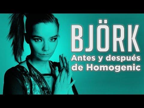 Björk: Antes y después de Homogenic | La Cuarta CR