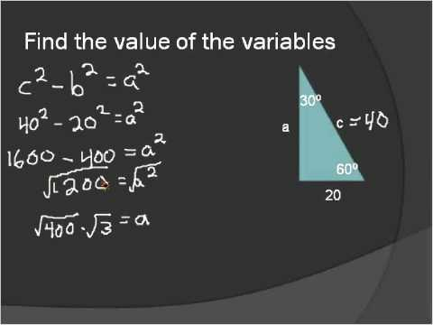 Special Triangles (Simplifying Math)
