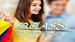 3D Glass Text Edit Your Mobile