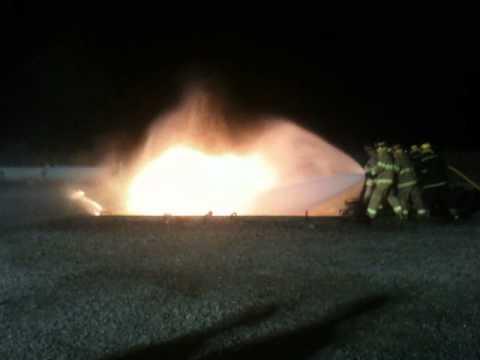 Lambton College Fire School Industrial Firefighting