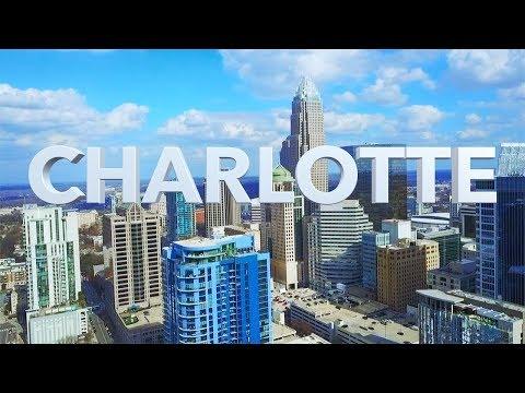 Charlotte NC Drone Skyline