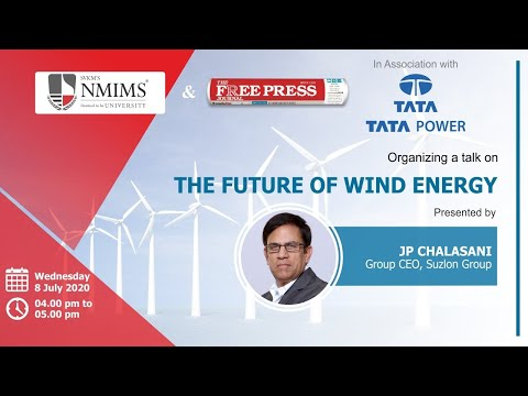 The Future of Wind Energy | JP Chalasani | The Future of Energy series