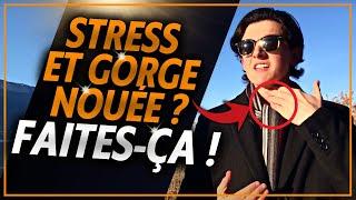 SENSATION DE GORGE SERRÉE - SOLUTIONS
