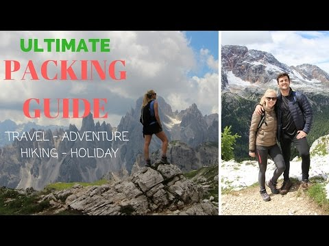 ULTIMATE PACKING GUIDE for Travel - Adventure - Hiking - Holiday