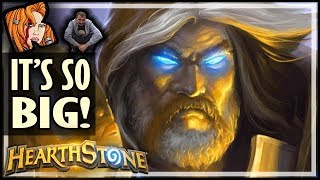 EVEN BIGGER Than Big Paladin! - Rise of Shadows Hearthstone