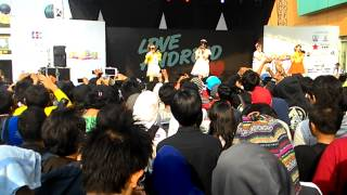 Love android @ennichisai 2015 day2
