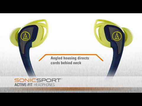 ATH-SPORT2 Overview | SonicSport® In-ear Headphones
