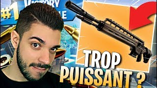 TOP 1 WITH THE NEW ARME THE MORE CHEAT ON FORTNITE? - LEGENDARY INFANTERIE FUSIL
