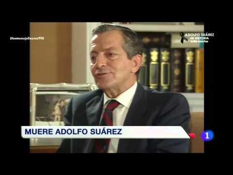 ADOLFO SUAREZ - Su última aparición en el Congreso
