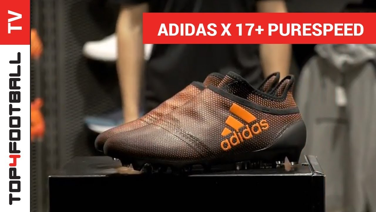 TOP4FOOTBALL UNBOXING - adidas X 17+ PureSpeed FG