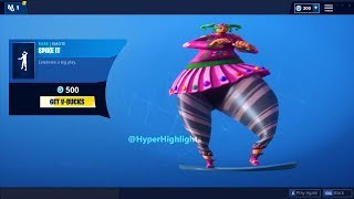FORTNITE SPIKE IT BASS BOOSTED