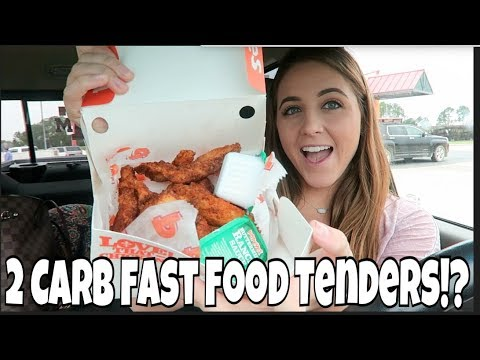 Keto Full Day of Eating | TWO Carb Fast Food Chicken Tenders!?!