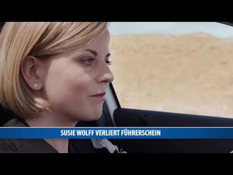 Susie Wolff verliert Führerschein