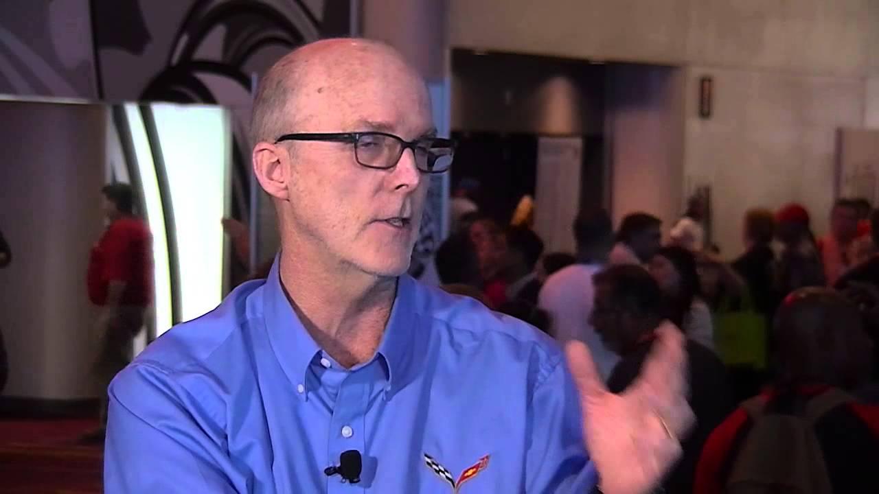 Tom Peters Director Of Exterior Design For General Motors Performance Cars Visits Sema Central