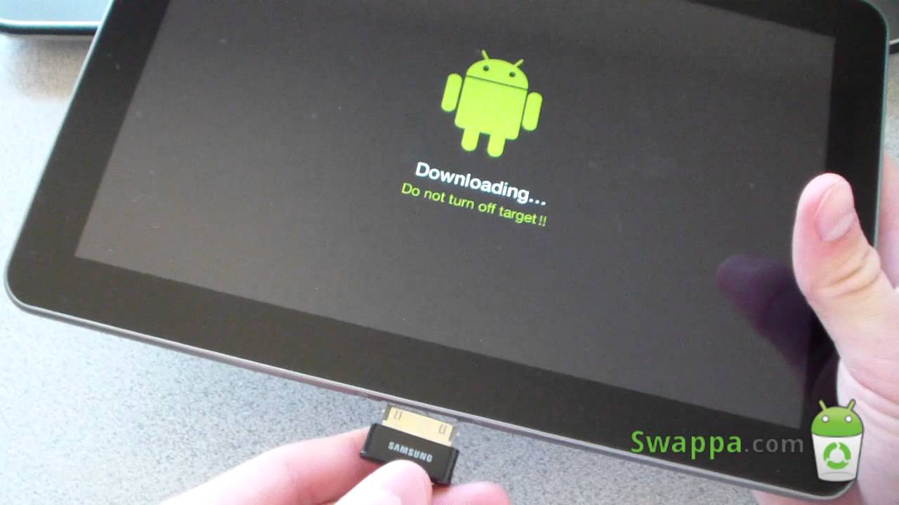 How To Unroot Unbrick The Samsung Galaxy Tab 10 1 Latest Youtube