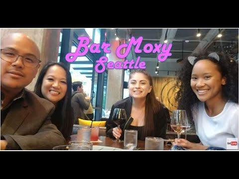 Bar Moxy In Moxy Hotel Seattle – Drinks, Room Tour