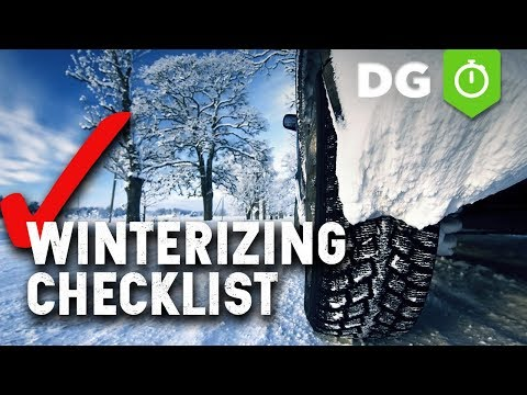 Top 7 Things To Prepare Your Car For Winter