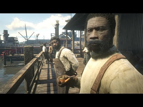 Sly Gameplay - Red Dead Redemption 2  - Epic Action In Workers Harbor & Funny Moments