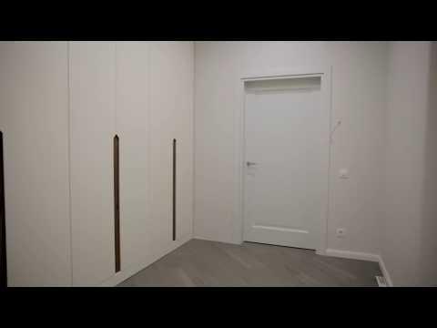 Шкаф с интегрированной ручкой в шпоне