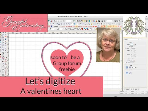 Let's digitize a Valentines heart