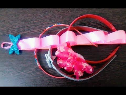How to make headband holder stand
