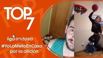 Top7 #YoLaMetoEnCasa de la afición