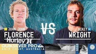 Quik Pro Gold Coast : Mikey Wright se paie Florence, Joan Duru éliminé