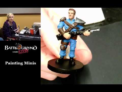 Painting Fallout Board Game Minis