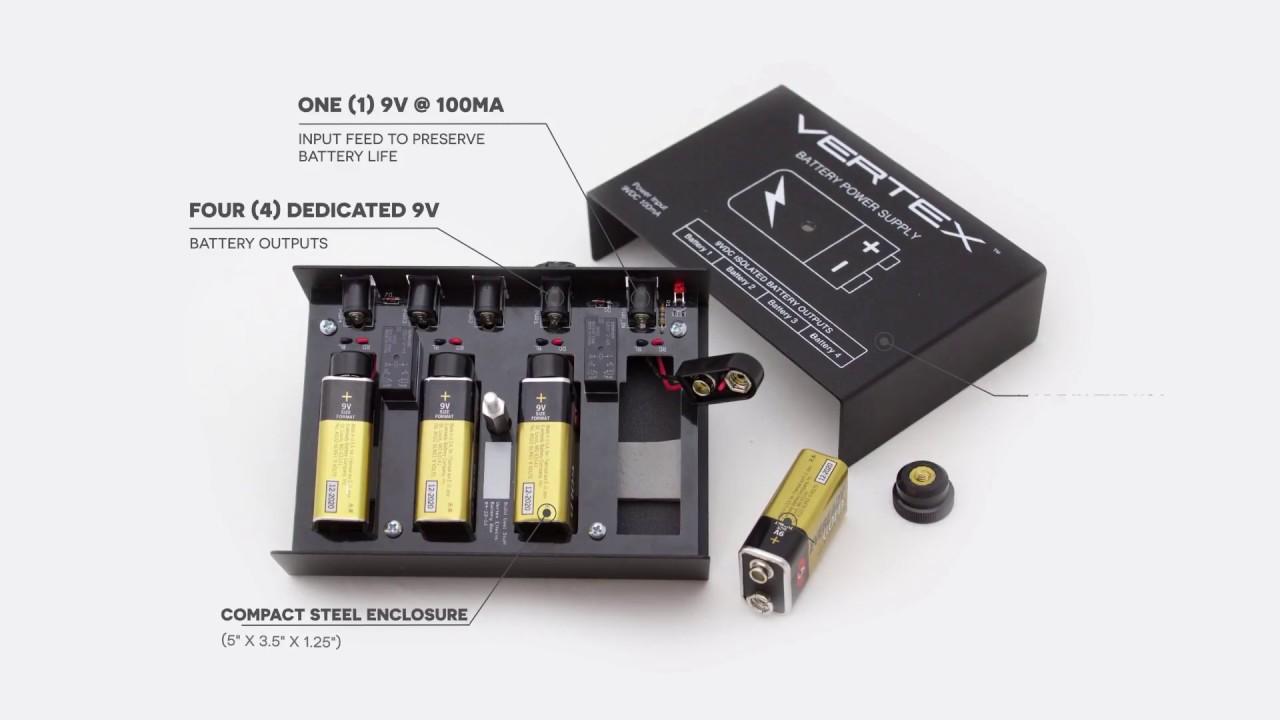 Vertex Battery Power Supply Overview