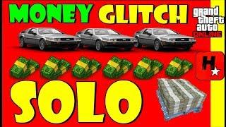 GTA 5 GLITCH SOLO DUPLICAR CARROS DELUXO💲SEM BMX💲CAR DUPLICATION GLITCH💲GTA V Solo Money Glitch💲1.43