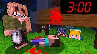 НЕ Играйте В Майнкрафт в 3 00 ЧАСА НОЧИ Страшный Маньяк Джефф Убийца Троллинг Прятки ПЕ MinecraftPE