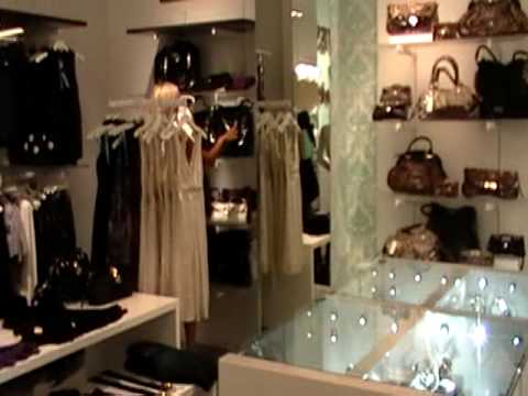Las Vegas Shopping Marciano Planet Hollywood Milla And Vitali Russian Language