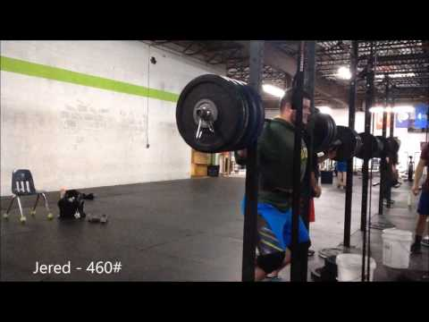 CrossFit Equity: Jered Squats 460#