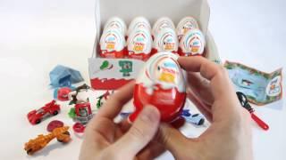 Розпакування 24 Кіндер Джой серії Ріо 2 (серія 2)/Kinder Joy Rio 2