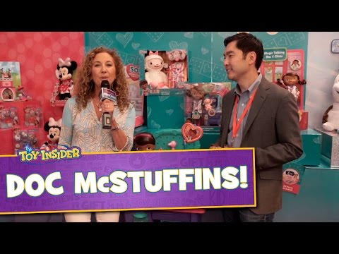 Doc McStuffins Pet Vet Toys at Sweet Suite 2015 with Just Play