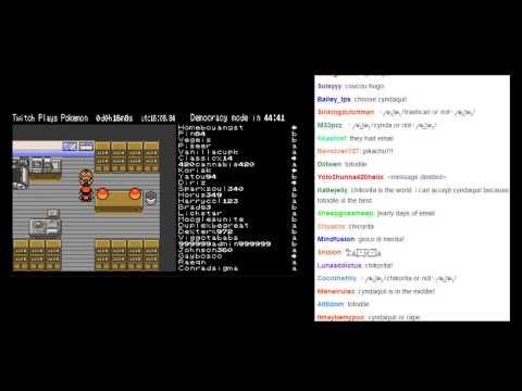 Twitch Plays Pokemon (Crystal) - Twitch Picks Totodile