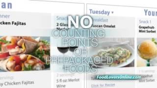 Food Lovers Online Menu Planner- Easy Interactive Tools Make Weight Loss Easy