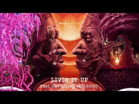 Young Thug - Livin It Up (with Post Malone & A$AP Rocky) [Official Audio]
