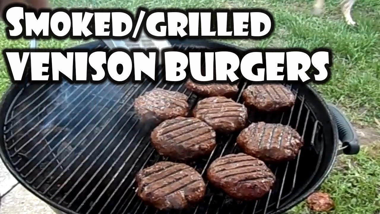 Smoked Grilled Venison Burgers Bummers Bar B Q Southern Cooking Youtube