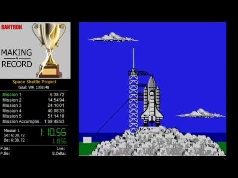 Space Shuttle Project NES Speedrun OG WR (1:03:48)