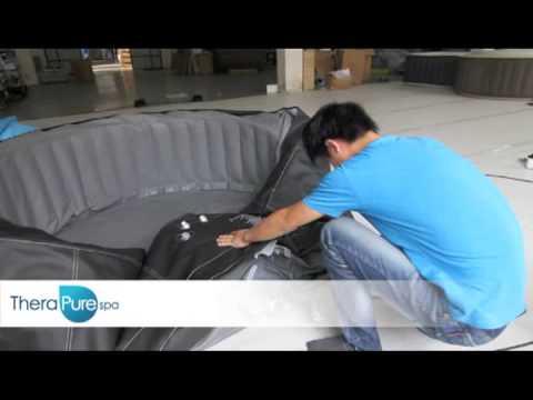 TheraPureSpa Motor box replacement