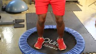 The Trampoline for Lower Ab Exercises : Fitness Training