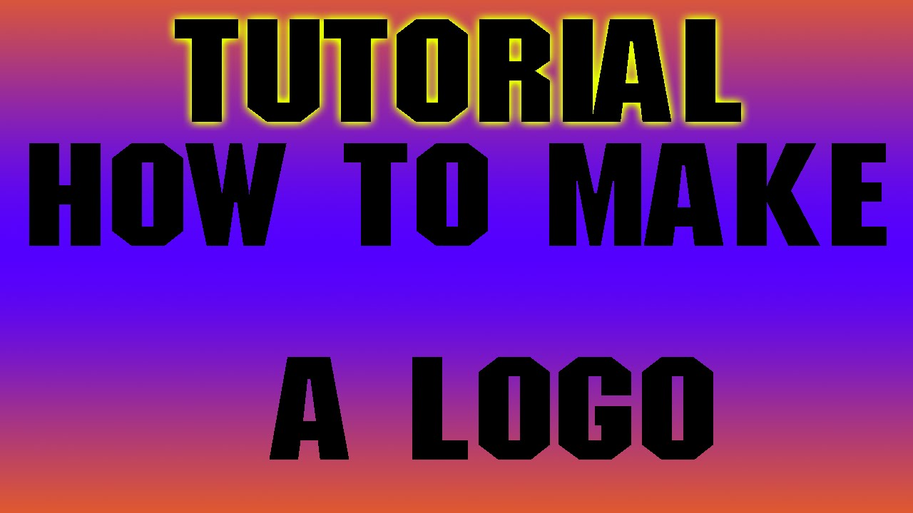 How to make your own youtube logo easy simple youtube for Draw my own logo